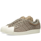 B99v7952 - Adidas Consortium x Invincible Superstar 80v Warm Grey - Men - Shoes