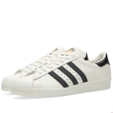 R42a8794 - Adidas Superstar 80s DLX Vintage White & Core Black - Men - Shoes
