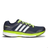 O73a1836 - adidas Men's Supernova Glide Boost 7 Running Shoes Navy/White/Yellow - Men - Shoes