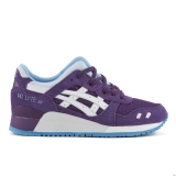 U40t8557 - Asics Gel-Lyte III (Rugged Winter Pack) Trainers Purple/White - Unisex - Shoes
