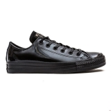 L14g5242 - Converse All Star Ox Womens Black Mono Patent - Women - Shoes
