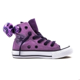 S48d8333 - Converse All Star Bow Back Juniors Dusty Lilac Camo - Kid - Shoes