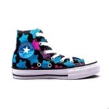 P87l3639 - Converse All Star Animal Juniors Cyan Space - Kid - Shoes