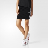 S81w5676 - Adidas 3Stripes Skirt Black - Women - Clothing