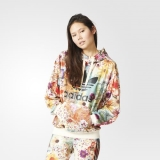 X58r1212 - Adidas Trefoil Hoodie Multicolour - Women - Clothing