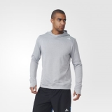K76i8807 - Adidas Response Icon Hoodie Grey - Men - Clothing