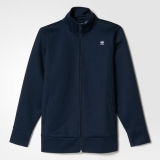 R81f4714 - Adidas HYKE Track Jacket Blue - Women - Clothing
