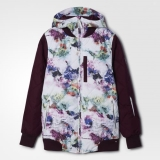 Y45l6443 - Adidas Puffalicious Jacket Print - Women - Clothing