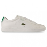 I42k5706 - Lacoste CARNABY EVO HTB White/Green - Unisex - Shoes