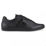N55b2155 - Lacoste CHAYMON PREMIUM Black/Dark Grey - Unisex - Shoes