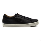 W71k3298 - Lacoste Straightset CRF Black - Men - Shoes