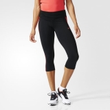 R40n7334 - Adidas Basic ThreeQuarter Tights Black - Women - Clothing