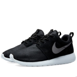 B85j1961 - Nike Roshe One Suede Black & Wolf Grey - Men - Shoes