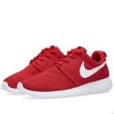 D69t2501 - Nike Roshe One Gym Red, Black & White - Men - Shoes