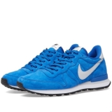 F52q6920 - Nike Internationalist Leather Game Royal & Pure Platinum - Men - Shoes