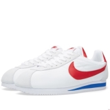X73y1081 - Nike Classic Cortez White, Varsity Red & Royal - Men - Shoes