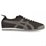 X81d1000 - Onitsuka Tiger MEXICO 66 Black Denim/Grey - Unisex - Shoes
