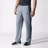 P7i9940 - Adidas Sport Essentials 3Stripes French Terry Pants Grey - Men - Clothing