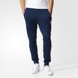 P22r5879 - Adidas Superstar Cuffed Track Pants Blue - Men - Clothing