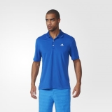 R92v4795 - Adidas Performance Polo Shirt Blue - Men - Clothing