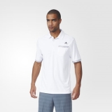 Z28k1452 - Adidas Climachill Camo Pocket Polo Shirt White - Men - Clothing
