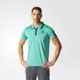 Y58z3681 - Adidas Barricade Polo Shirt Green - Men - Clothing