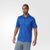 O82r7017 - Adidas Climachill DotFade Polo Shirt Blue - Men - Clothing