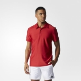 W4p4358 - Adidas All Premium Polo Shirt Red - Men - Clothing