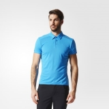 M61a8118 - Adidas Chill Polo Shirt Blue - Men - Clothing