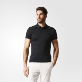 Y17r5909 - Adidas Chill Polo Shirt Black - Men - Clothing