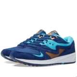 C23i3510 - Saucony Grid 8000 Premium Blue & Light Blue - Men - Shoes