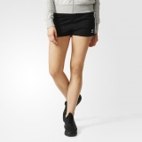 G10o2216 - Adidas 3Stripes Shorts Black - Women - Clothing