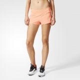 R56s7311 - Adidas 3Stripes Gym Shorts Yellow - Women - Clothing