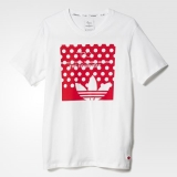 P1l5712 - Adidas Fourness Icon Logo Tee White - Men - Clothing