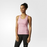 G5x7711 - Adidas Supernova Fitted Tank Top Pink - Women - Clothing