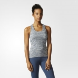 P28j5830 - Adidas Supernova Fitted Tank Top Blue - Women - Clothing