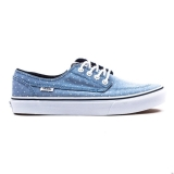 P65t8967 - Vans Brigata Slim Womens Blue - Women - Shoes