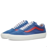 X33q2012 - Vans Old Skool Bijou Blue & Racing Red - Men - Shoes