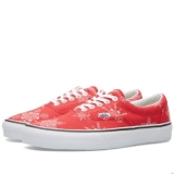 S20g7046 - Vans Era Van Doren Skull Snowflake & Racing Red - Men - Shoes